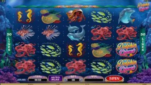 Golden Riviera Casino :: DOLPHIN QUEST video slot - PLAY NOW!