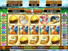 Sloto'Cash Casino :: Hen House slot - PLAY NOW!