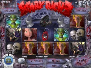 Tropezia Palace Casino :: Scary Rich 3 video slot - PLAY NOW!