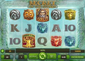 Monte-Carlo Casino :: Secret Of The Stones video slot - PLAY NOW!