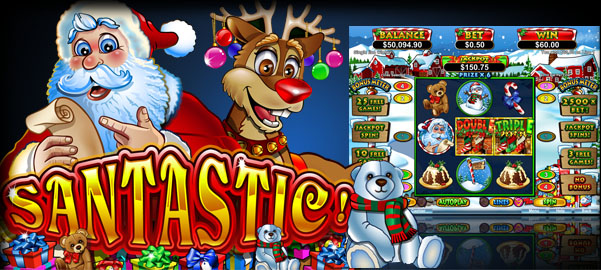Santastic! - Christmas Slot Game - PLAY NOW!