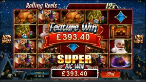 CRAZY VEGAS CASINO :: Secret Santa online slot - PLAY NOW!