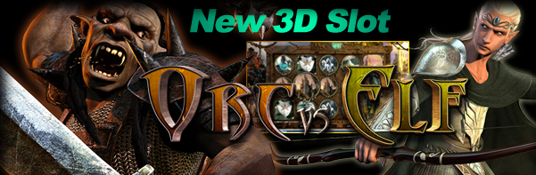 iNetBet Casino :: Orc vs Elf 3D slot game - PLAY NOW!