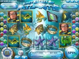 Tropezia Palace Casino :: Lost Secret of Atlantis slot - PLAY NOW!