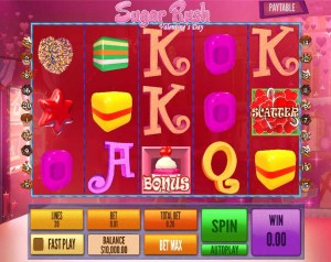 Black Diamond Casino :: Sugar Rush Valentine's Day slot - PLAY NOW!