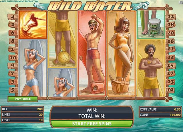 Tropezia Palace Casino :: Wild Water™ video slot - PLAY NOW!