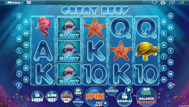 RICH CASINO :: Great Reef video slot - PLAY NOW! (US Players Welcome!)