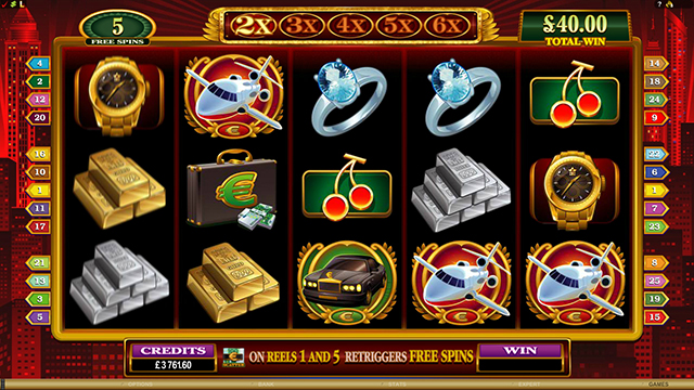 CRAZY VEGAS CASINO :: High Society video slot - PLAY NOW!