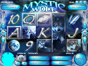 Tropezia Palace Casino :: Mystic Wolf video slot - PLAY NOW!