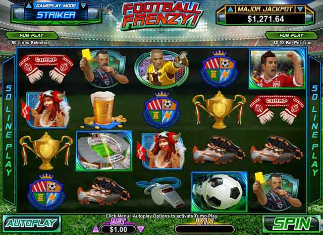 Intertops Casino :: Football Frenzy video slot - PLAY NOW! (US Players Welcome!)