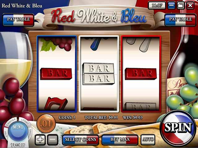 Slots Capital Casino :: Red, White & Bleu slot - PLAY NOW!