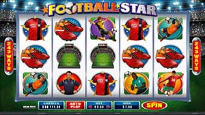 Golden Riviera Casino :: Football Star slot - PLAY NOW!