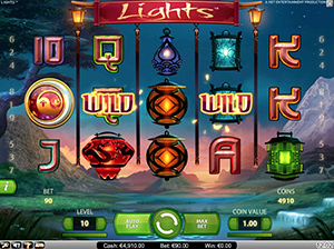 iGame Casino :: Lights™ video slot - PLAY NOW!
