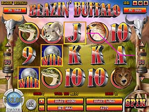 Slots Capital Casino :: Blazin' Buffalo video slot - PLAY NOW! (US Players Welcome!)