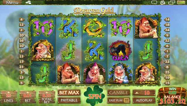 Rich Casino :: Dwarven Gold slot game - PLAY NOW! (US Players Welcome!)