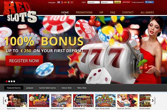 RedSlots Casino :: New Premium 3D Slot Casino Online - PLAY NOW!