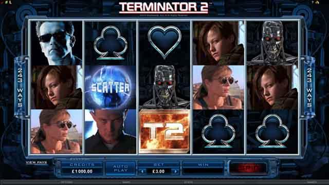CRAZY VEGAS CASINO :: Terminator 2™ online slot