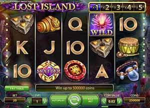 iGame Casino :: Lost Island video slot - PLAY NOW!