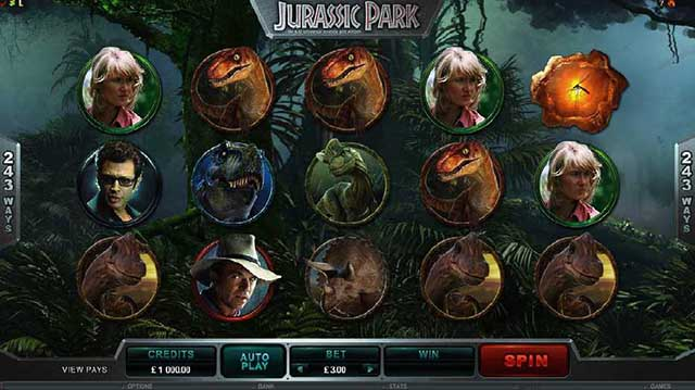 All Slots Casino :: Jurassic Park™ online slot - PLAY NOW!