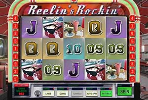 reasure Mile Casino :: Reelin' & Rockin' slot - PLAY NOW! (US Players Welcome!)