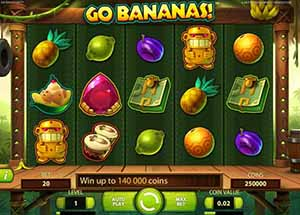Mr Green Casino :: Go Bananas! video slot - PLAY NOW!
