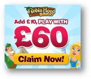 Robin Hood Bingo - PLAY NOW!