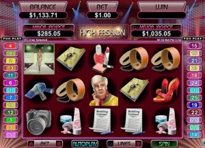 Uptown Aces Casino :: High Fashion slot - PLAY NOW!
