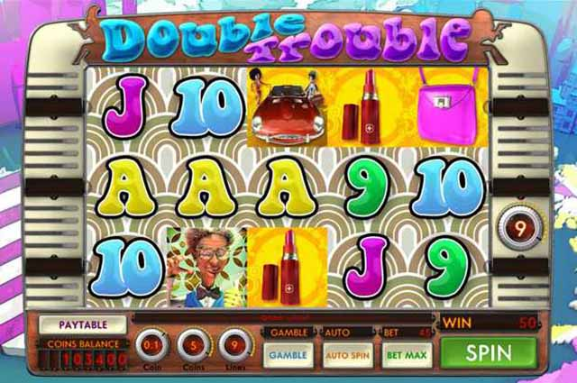 Treasure Mile Casino :: Double Trouble slot - PLAY NOW!