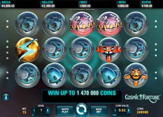 Mr Green Casino :: Cosmic Fortune™ slot - PLAY NOW!