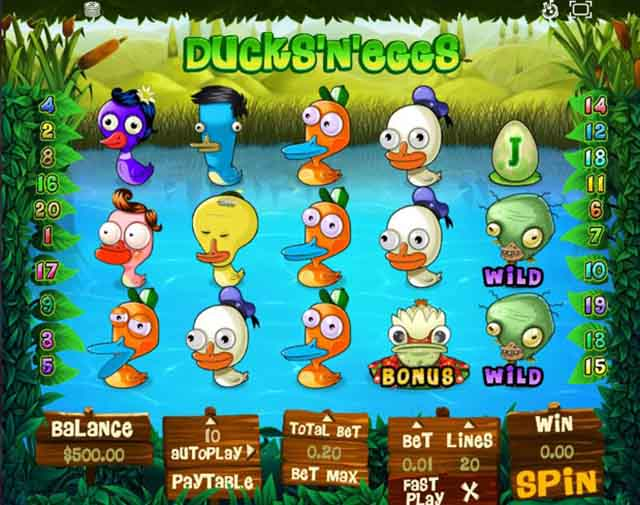 RICH CASINO :: Ducks'n'Eggs slot - PLAY NOW!