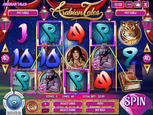 Slots Capital Casino :: Arabian Tales video slot - PLAY NOW!