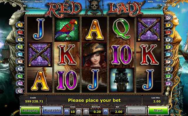 StarGames Casino :: RED LADY online slot - PLAY NOW!