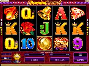 CASINO-MATE :: Burning Desire online slot - PLAY NOW!