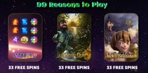 SLOTS MAGIC CASINO :: 99 Reasons to Play Slots, WOW!