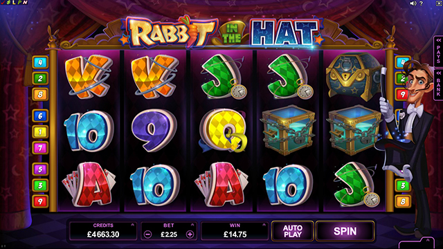 Mr. Green Casino :: Rabbit in the Hat online slot - PLAY NOW!