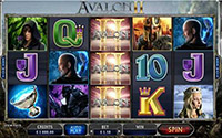 ONLINE SLOT :: Avalon II: The Quest for the Grail - PLAY NOW!