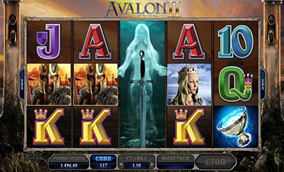 Игровой автомат Avalon II: The Quest for the Grail («Авалон 2: В поисках Грааля»)