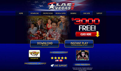 Play Casino Games at Las Vegas USA Casino